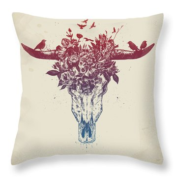 Dead Summer Throw Pillow