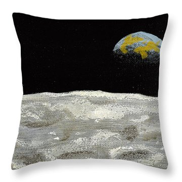Death By Starlight Throw Pillow