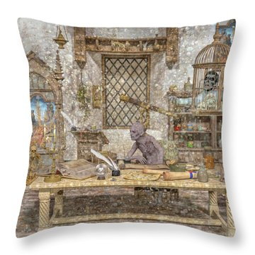 Decisions Of The Damned  Throw Pillow