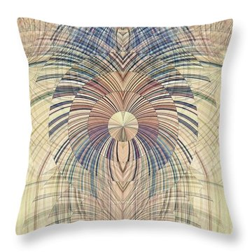 Deco Wood Throw Pillow