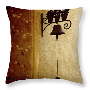 Throw Pillow featuring the photograph Decorated Life by Milena Ilieva
