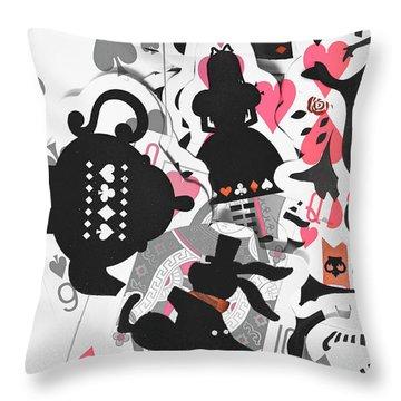 Deep Dream Design Throw Pillow