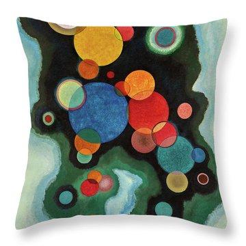 Deepened Impulse, Vertiefte Regung, 1928 Throw Pillow
