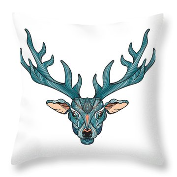 Reindeer Throw Pillows