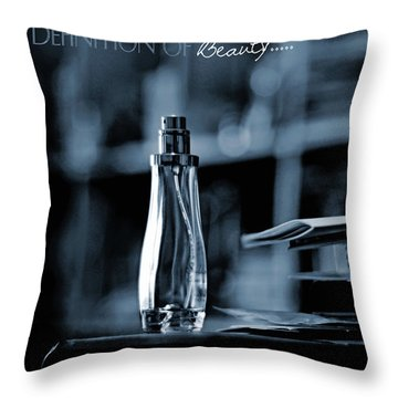 Definition Of Beauty Throw Pillow