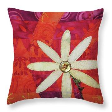 Delightful Daisy Throw Pillow