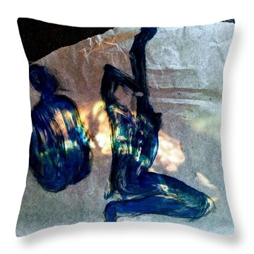Delisious And Foolish Throw Pillow
