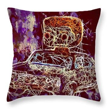 Dean Winchester Car Supernatural Pop  Throw Pillow