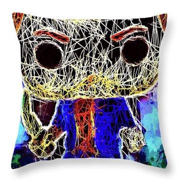 Dean Winchester Supernatural Throw Pillow
