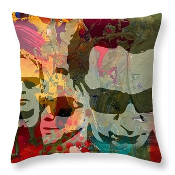Depeche Mode Throw Pillow