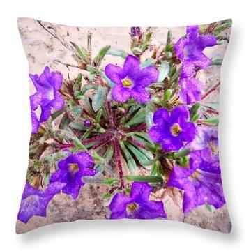 Desert Dew Throw Pillow