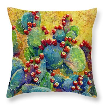 Desert Gems Throw Pillow