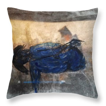 Desire By Nietzsche Throw Pillow