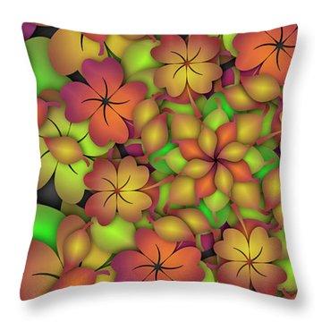 Desmodium Remix One Throw Pillow