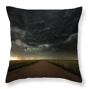 Desolation Road Throw Pillow