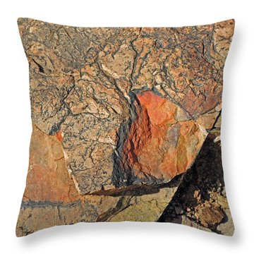 Throw Pillow featuring the photograph Details Along The Path 2 by Lynda Lehmann