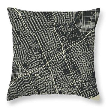 Detroit Throw Pillows