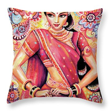 Devika Dance Throw Pillow