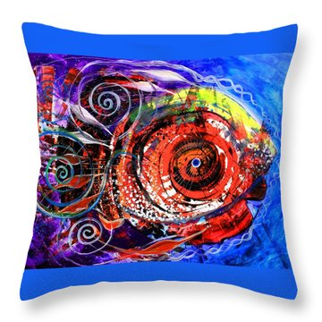 Diabla Grande Throw Pillow