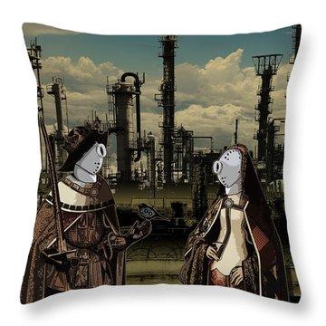 Dialog Throw Pillow