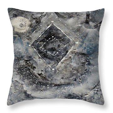 Diamond Apparition  Throw Pillow