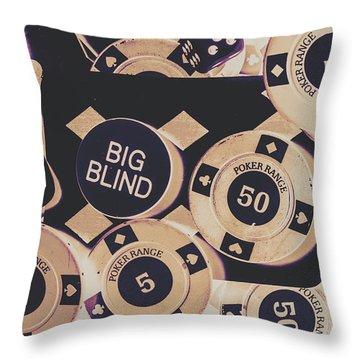 Diamond Odds Throw Pillow