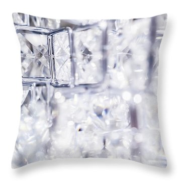 Diamond Shine I Throw Pillow