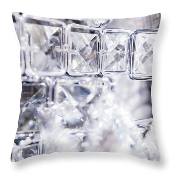 Diamond Shine II Throw Pillow