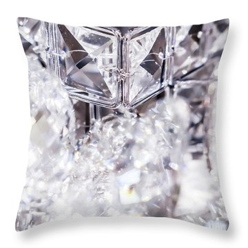 Diamond Shine V Throw Pillow