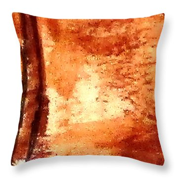 Digital Abstract No9. Throw Pillow