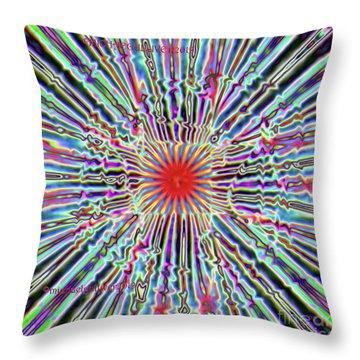 Digital High Throw Pillow