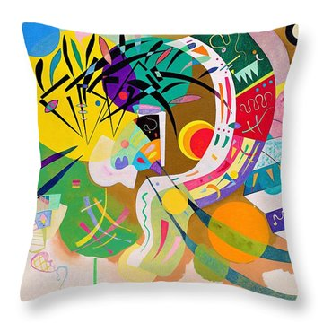 Digital Remastered Edition - Dominant Curve Throw Pillow