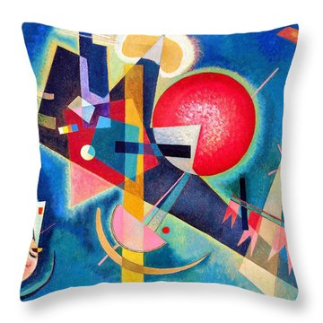 Digital Remastered Edition - In The Blue Throw Pillow