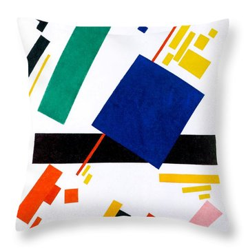 Digital Remastered Edition - Suprematist Composition Throw Pillow
