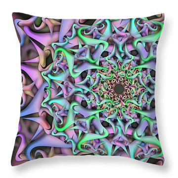 Dimension Object Remix Two Throw Pillow
