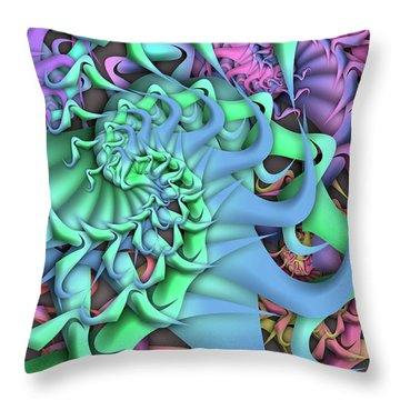 Dimension Remix Two Throw Pillow