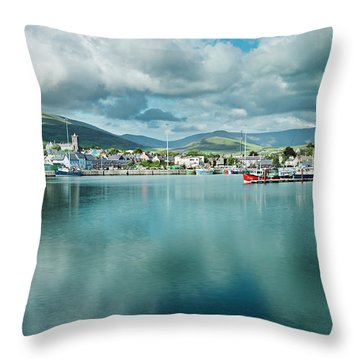 Throw Pillow featuring the photograph Dingle Delight by Dan McGeorge