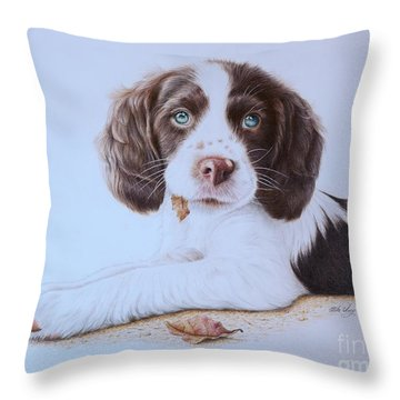 Dirk Throw Pillow