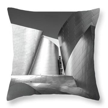 Disney_concert_hall Throw Pillow