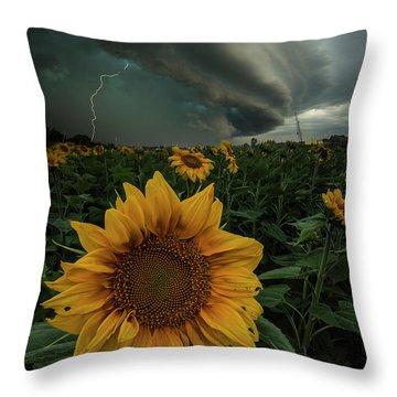 Severe Throw Pillows
