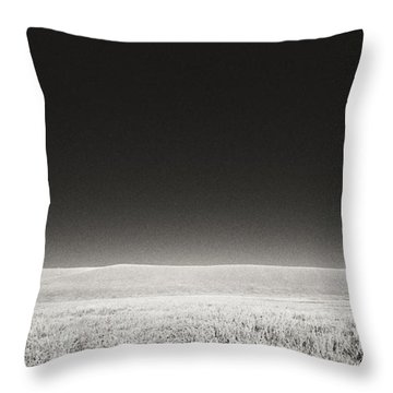 Throw Pillow featuring the photograph Distance Between Us by Carl Young
