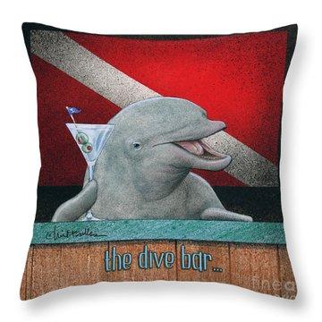 Dive Bar, The Throw Pillow