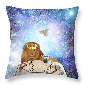Divine Rest Throw Pillow