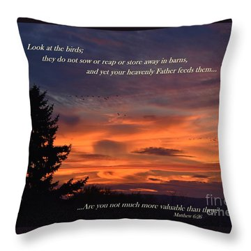 Do Not Worry Throw Pillow