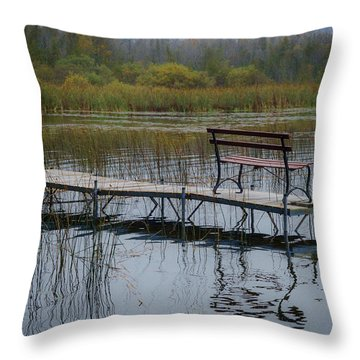 Dock By The Bay Throw Pillow