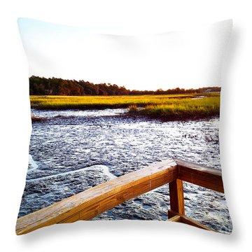 Dock Point Throw Pillow