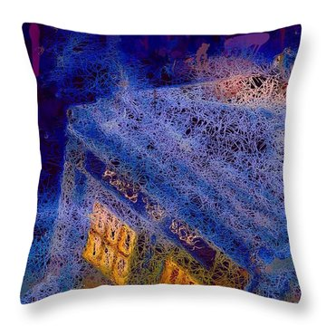 Doctor Who Tardis 2 Throw Pillow