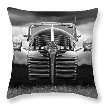 Dodge Truck 1947 Throw Pillow