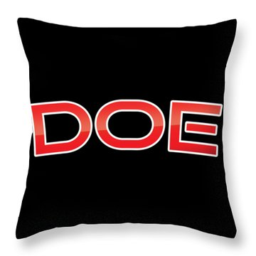 Doe Throw Pillow