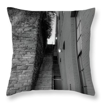 Does Evil Lurk Above? Throw Pillow